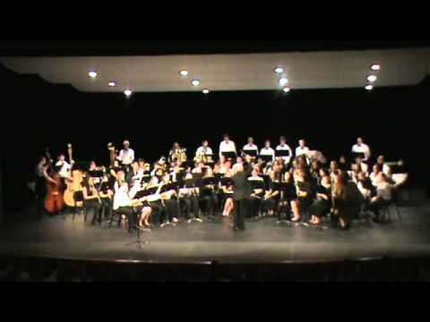 A Praetorius Prelude performed by AHS Symphonic Band