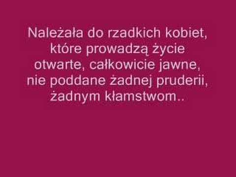 Tekst piosenki Kalina Jędrusik - Bo we mnie jest seks po polsku