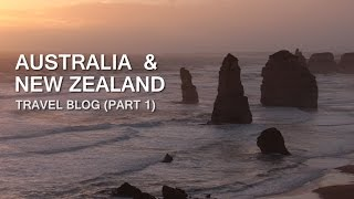 Australia&New Zealand Travel Vlog - Uncut (Part 1)