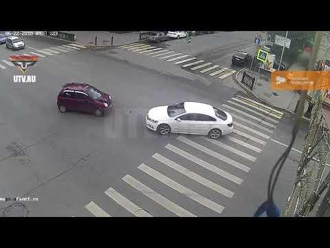 ДТП в Уфе на улице Ленина