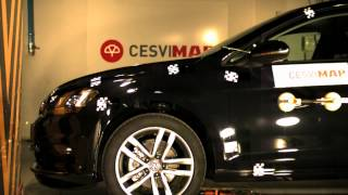 Crash Test delantero VW Golf VII