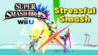 An interesting Smash Wii U minigame – Stressful Smash