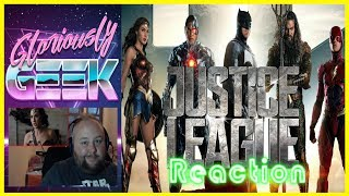 Gloriously Geek Reacts to DC's new trailer for Justice League which debuted at comic con 2017JUSTICE LEAGUE  Reaction  Comic-Con Trailer 3SUBSCRIBE HERE ► https://www.youtube.com/channel/UCPAckJ3dleAOCJcMG4qhPQg?sub_confirmation=1Follow my Instagram ► http://instagram.com/gloriouslygeekFollow me on Twitter ► https://twitter.com/gloriouslygeekLike me on Facebook ► https://www.facebook.com/gloriouslygeekVisit Mick's Mixology ► https://www.youtube.com/channel/UCjnnQc-Wkt3pcGsguoVoIPQ?sub_confirmation=1