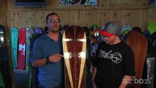 arbor a frame snowboard 2011