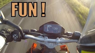 9. KTM 690 Duke Test Ride