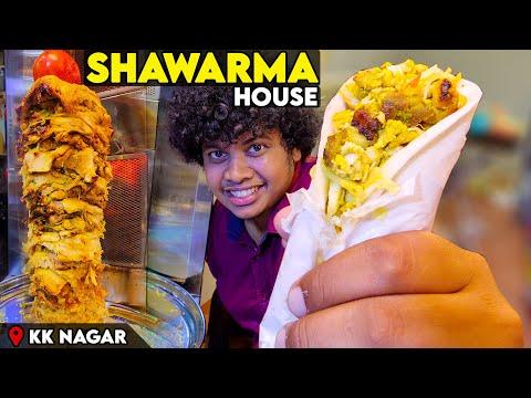 UNLIMITED Chicken SHAWARMA @ 299/- Inaugurating Shawarma House | Irfan's View