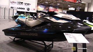 7. 2016 Sea Doo GTI Limited 155 Jet Ski - Walkaround - 2016 Toronto Boat Show