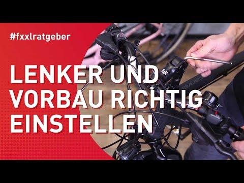 Fahrradlenker richtig einstellen für eine angenehme Sitzposition