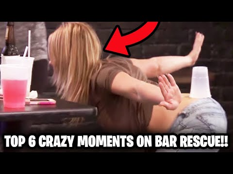 The CRAZIEST Moments that went on Bar Rescue!