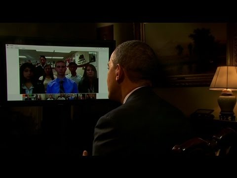 President Obama Interview via Google+ Hangout
