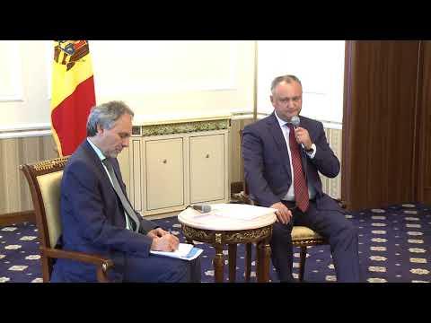 Șeful statului a avut o întrevedere cu delegația germană a Asociației pentru Europa de Sud-Est (SOG), condusă de dl Hansjörg Brey, directorul executiv al acestei asociații