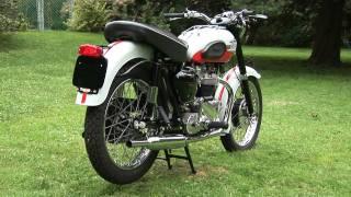 6. Triumph Bonneville Motorcycle Vintage 1959