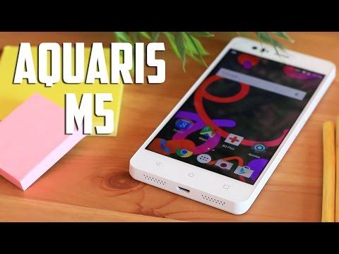bq aquaris M5, Review en español