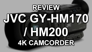 Here's our review of JVC's low-cost pro-featured 4K camcorder, the GY-HM170; it's essentially identical to the HM200 but the latter adds XLR audio on a handle, SDI out and live streaming. Functionally, they're the same.Follow us on Twitter, Instagram & Facebook!http://www.twitter.com/tubeshootermaghttp://www.instagram.com/tubeshootermaghttp://www.facebook.com/tubeshootermag