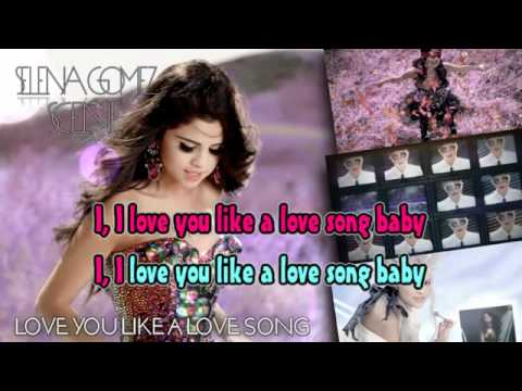 Love You Like A Love Song karaoke beat hay nhất