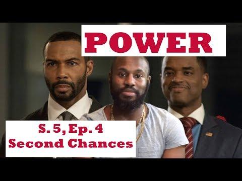 POWER SEASON 5, EPISODE 4 REVIEW, Second Chances S05E04 Reaction