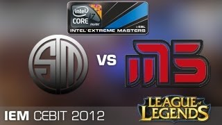 IEM Hanover League of Legends - Team SoloMid vs. Moscow 5