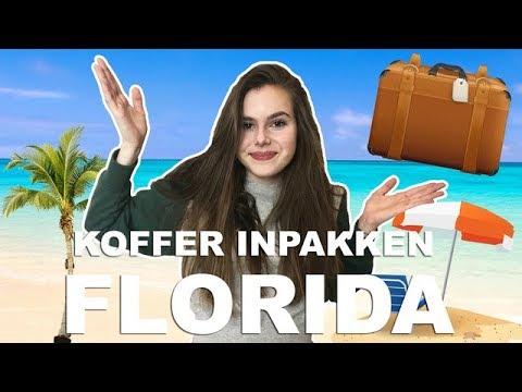 KOFFER INPAKKEN VOOR FLORIDA!!