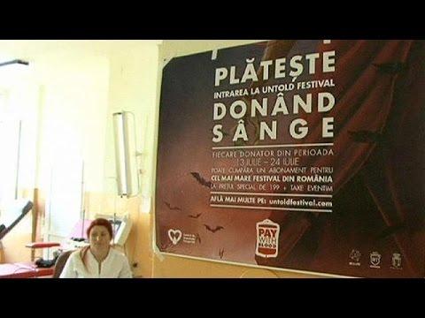 Ρουμανία: Φεστιβάλ Δράκουλα με αιμοδοσία!