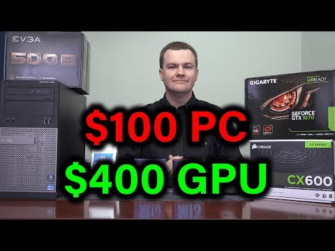 Gaming on a 6 year old PC! - i5-3450 + GTX 1070 + 600W PSU - Upgrade Guide