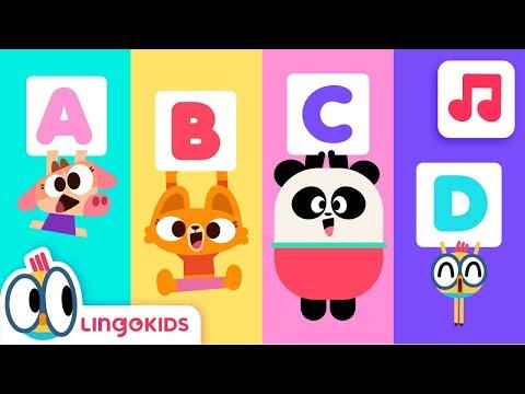 ABC Chant 🎵 ENGLISH FOR KIDS   LINGOKIDS