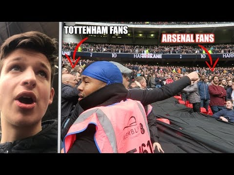 KICKS OFF AT THE NORTH LONDON DERBY | Spurs Vs Arsenal