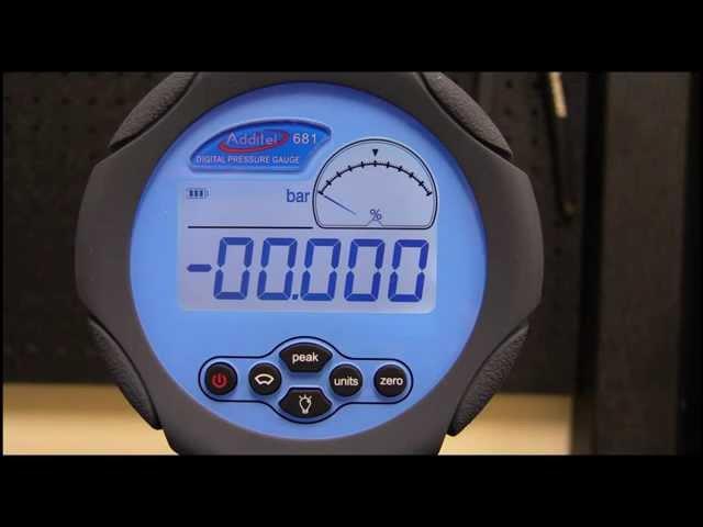Digitální tlakoměr Additel ADT681