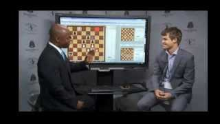 #105-Sinquefield Cup 2013. Carlsen v Kamsky -- Great Attack By Kamsky