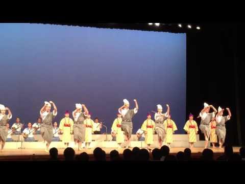2016年石垣中学校郷土芸能部中文祭出演