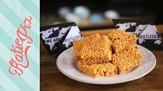 Quick Marshmallow Rice Krispies Squares Recipe | Charity Bake Sale Special | Katie Pix by Katie Pix