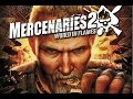 Playing Mercenaries 2 Part 1 playstation 2