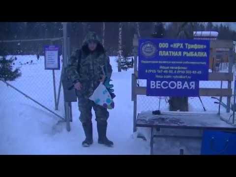Видео отчет о рыбалке за 2 февраля 2019