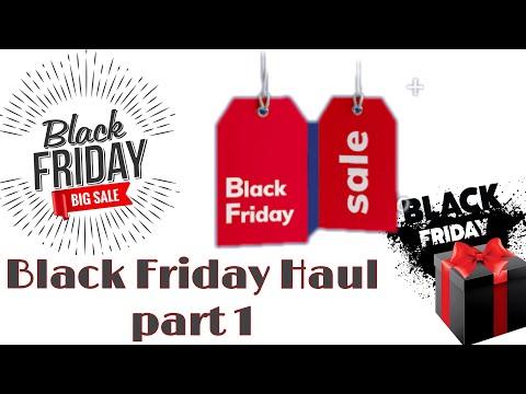 Unboxing online haul Black Friday deals Part 1