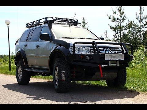 Силовой бампер на мицубиси паджеро спорт 2 фото