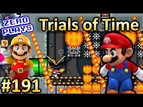 Trials of Time | Super Mario Maker Part 191 (видео)