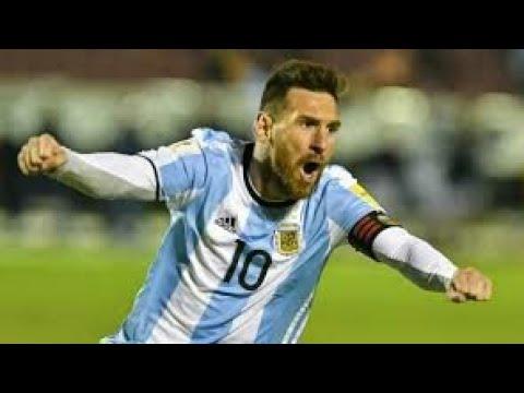 Ecuador vs Argentina 1-3 Highlights & Full Match World cup 11 oct 2017