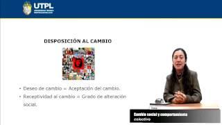 UTPL CAMBIO SOCIAL Y COMPORTAMIENTO COLECTIVO [(ASIST. GER. Y RRPP)(SOCIOLOGÍA ORGANIZACIONAL)]