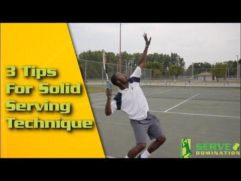 Tennis Serve – 3 Tips For Solid Serving Technique