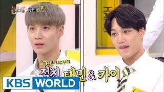 Video SHINee Taemin didn't welcome EXO Kai at first? [Happy Together / 2017.09.07] MP3, 3GP, MP4, WEBM, AVI, FLV Juni 2018