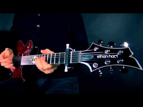 Glider Capo - Heavy Electric Guitar Capo Demo