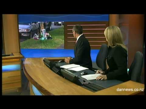 News Blooper: One News reporter doesn't know she is on air