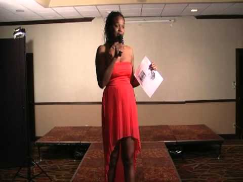 JUDEE BROWN HOST HAIR SHOW (HOST OF CINN. FUNNYBONE)