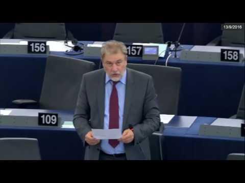 Νότης Μαριάς στην Ευρωβουλή: Όχι στο κοινωνικό ντάμπινγκ