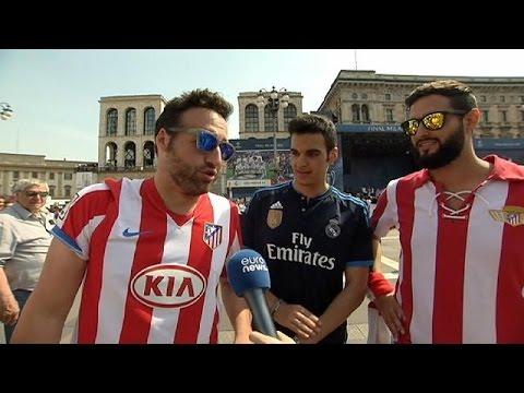 Μιλάνο: Όλα έτοιμα για τον μεγάλο τελικό του Champions League