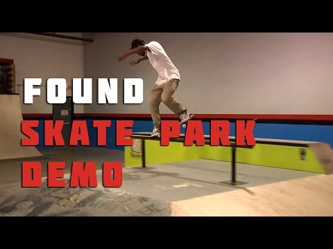 Ambush Skate Team Demo @ Found Skatepark.