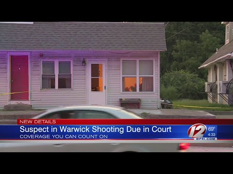 Suspect to face judge after allegedly shooting through door in Warwick