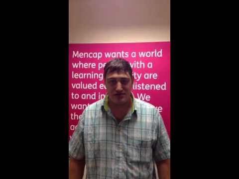 Dean tells a joke about Friday - Mencap's comedy competition 2013