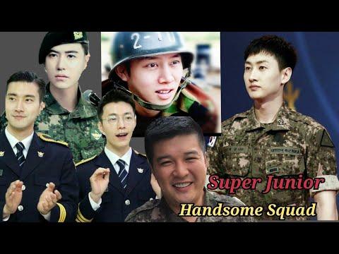 Super Junior Handsome Squad .... National Treasure of South Korea Lol