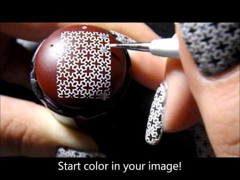 nail art con tecniche avanzate per le decorazioni