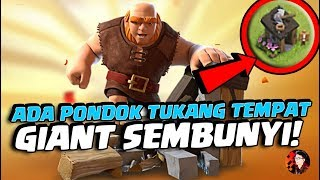Video NGAKAK! Ada Giant Sembunyi Di Builder Hut? - Update CoC MP3, 3GP, MP4, WEBM, AVI, FLV Agustus 2017